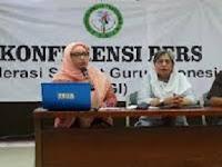 Mengejutkan!! Sekolah 5 Hari Ditolak FEDERASI GURU INDONESIA. Ini Alasannya..