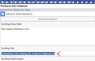 Admin Agar Tampil Di Halaman Facebook