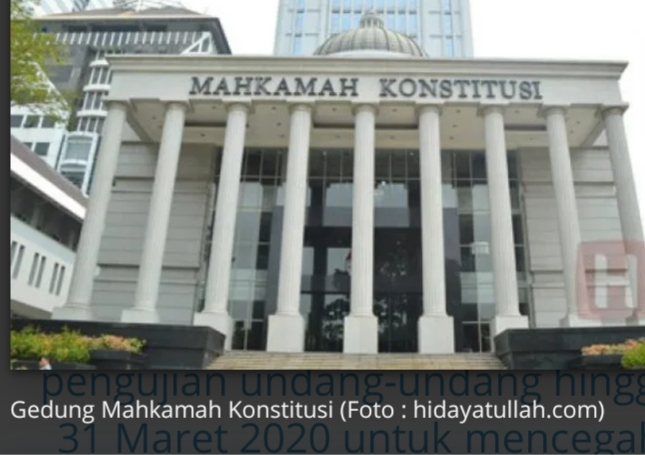 MK Bakal Minta Keterangan Presiden dan DPR Terkait Perkara UU Pers