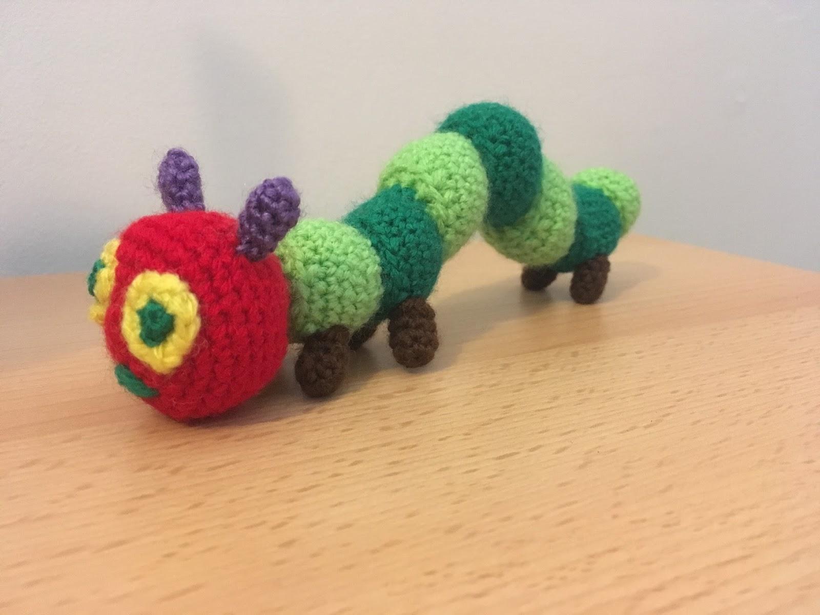 Amigurumi Caterpillar
