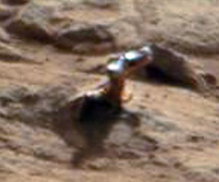 Marte stupisce ancora,ecco cosa fotografa CURIOSITY