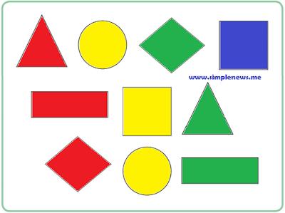 Warnailah dengan warna merah, kuning, hijau dan biru www.simplenews.me