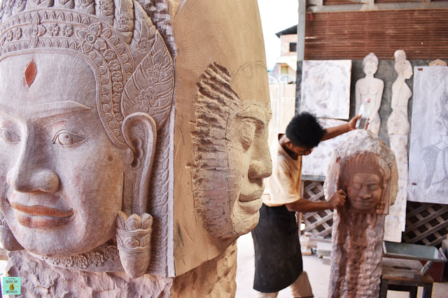 Artisans o Angkor, Siem Reap