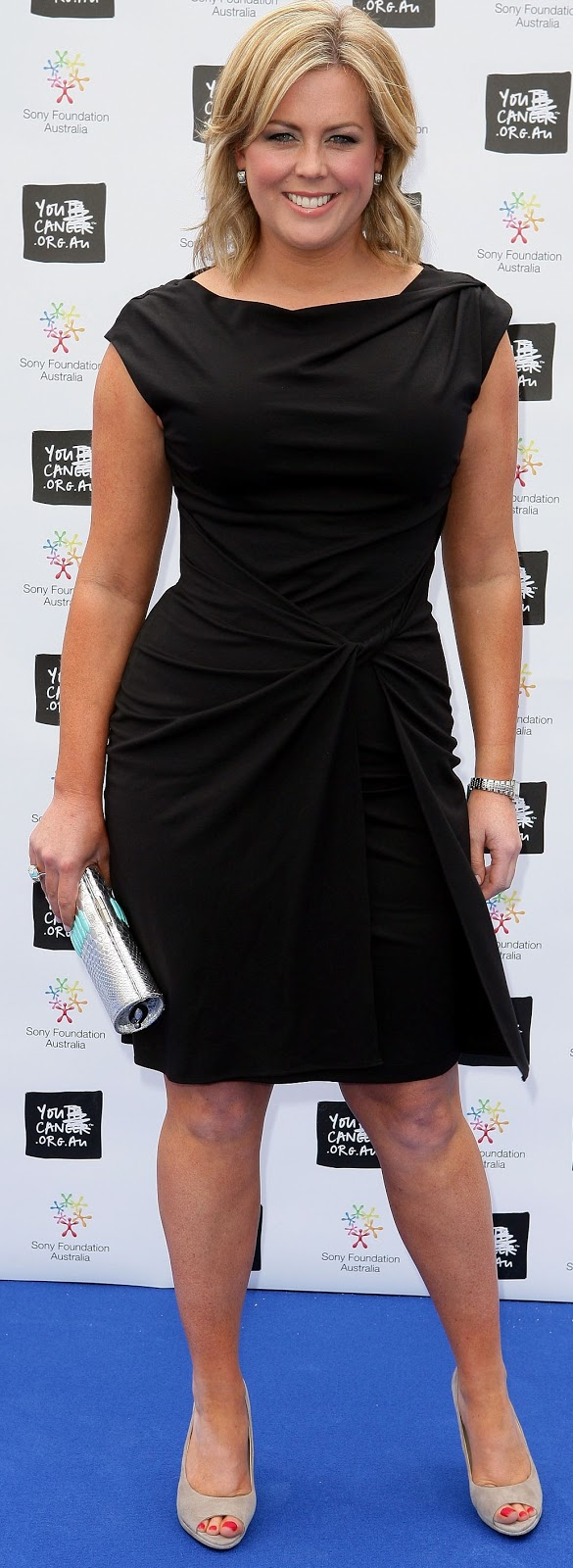 Its shaming me for being a size 12: Samantha Armytage