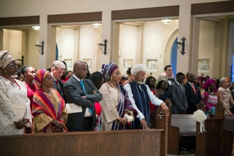 4 Wole Soyinka's Son Weds In Atlanta - See Photos News