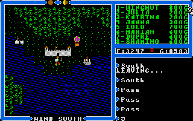 My all time favourite video games: Ultima IV: Quest of the