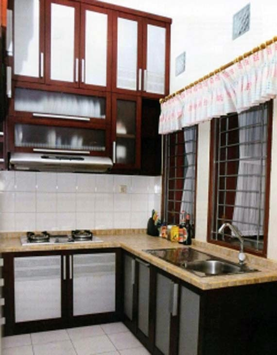 Photo interior dapur mungil