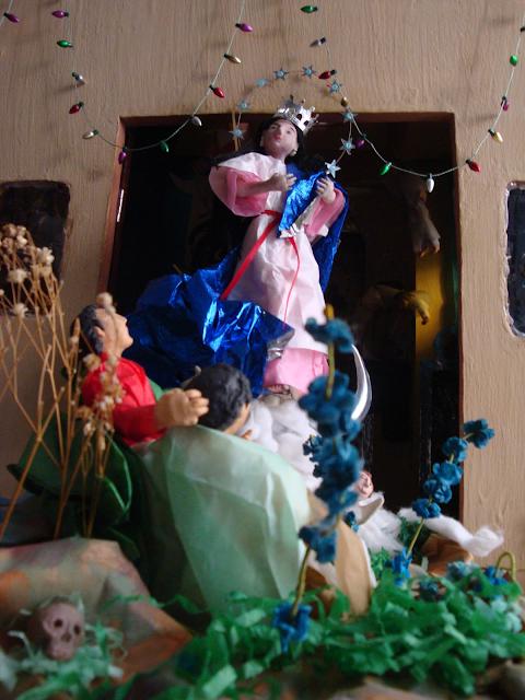 Imágen religiosa en miniatura