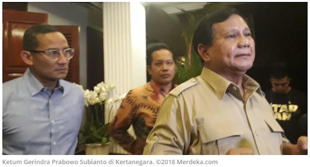 Ketua Umum Partai Gerindra Prabowo Subianto setuju dengan adanya rencana pemindahan Ibu Kota Indonesia dari Jakarta ke Kalimantan. Sebab, kata dia, pemindahan Ibu Kota adalah perjuangan Gerindra sejak lama.