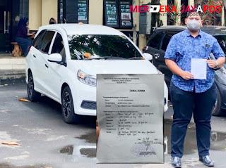 Diduga Palsu Akta Cerai Dilaporkan. Lawyer Ujok Datangi Mapolres Pati Laporkan Kasus Tersebut