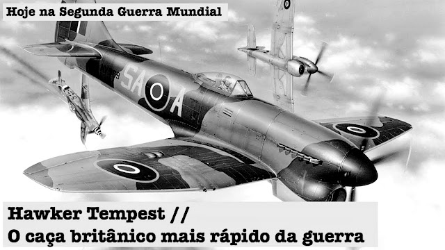 Hawker Tempest, Segunda Guerra Mundial, BlitzKrieg, Nazismo, Luftwaffe, Winston Churchil, RAF, Royal Air Force
