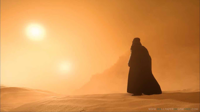 Download Star Wars Battlefront Darth Vader Tatooine Dune Sea Twin Sun Wallpaper Engine