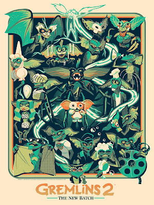 Gremlins Screen Prints by Glen Brogan x Mondo