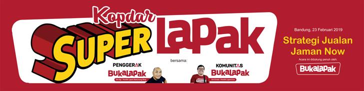 Kopdar Super Lapak Bersama Penggerak Bukalapak dan Komunitas Bukalapak di Dago Bandung