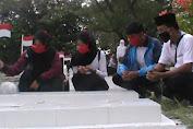 Hari Lahir Pancasila, Aktifis PA GMNI Tabur Bunga Di TMP