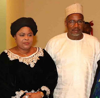 Bala Mohammad and Patience Jonathan