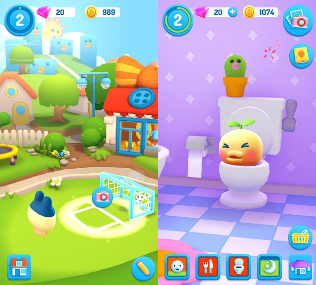 Download My Tamagotchi Forever Mod Tiền cho Android