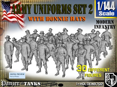 1-144 Army Modern Uniforms Set 2 picture 1