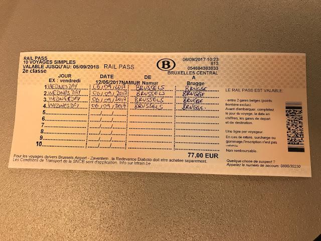 Como usar trem na Bélgica