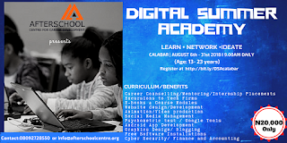 Afterschool Centre Digital Summer Academy
