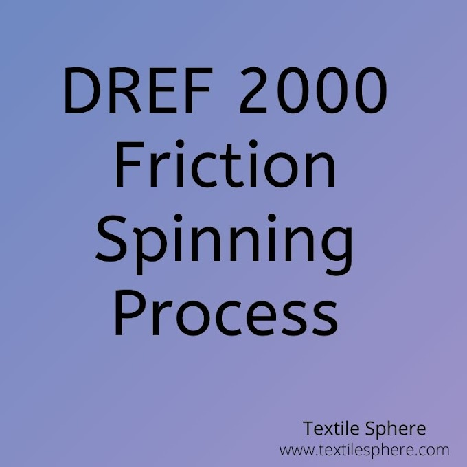 DREF 2000 Friction Spinning Process