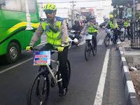 Polda DIY  Patroli Bersepeda  Pantau Lalu Lintas
