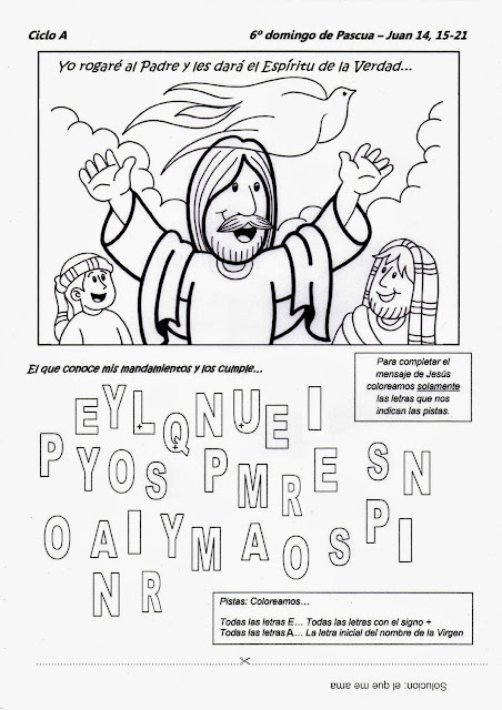 La Catequesis (El blog de Sandra): Recursos Catequesis Sexto Domingo ...
