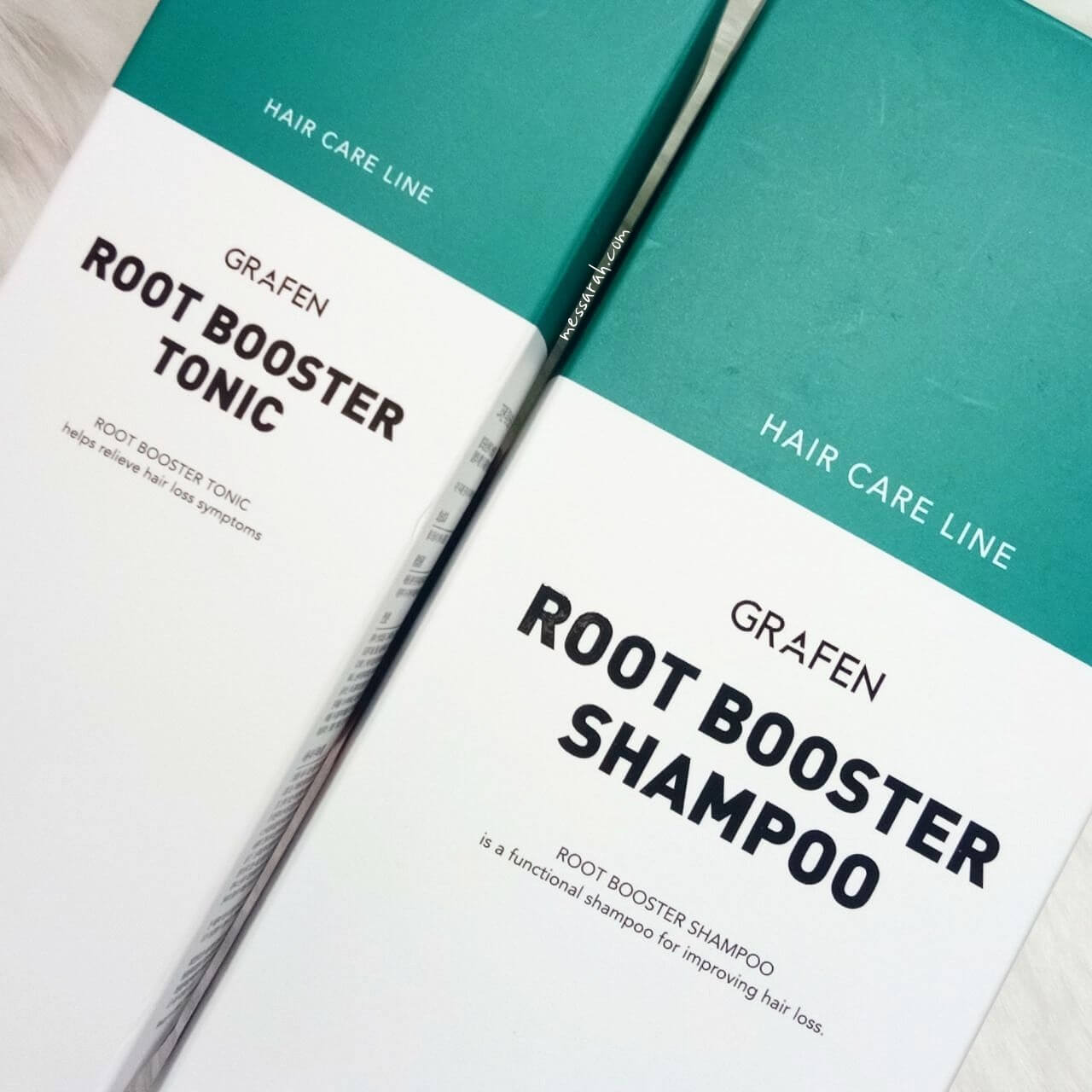 Grafen Root Booster Shampoo and Grafen Root Booster Tonic Review