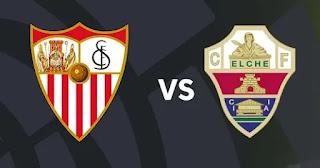 Elche vs Sevilla liga