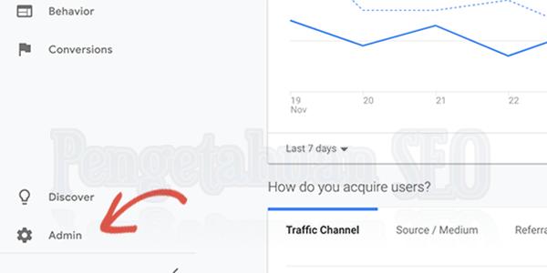 Sambungkan Google Search Console serta Google Analytics