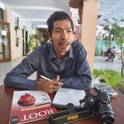 ေအာင္ၿငိမ္းခ်မ္း (Myanmar Now) ● စစ္ေတြအေျခစိုက္ သတင္း သမား အသက္အႏၱရာယ္ ၿခိမ္းေျခာက္ခံေနရ