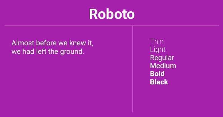 Font Terbaik Untuk Website Salah Satunya Adalah Roboto