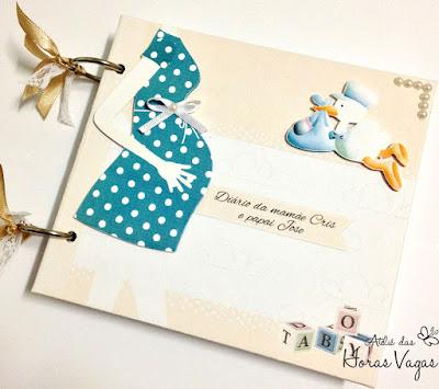 diário de gestante grávida gravidez agenda pre-natal esperando bebê diário da mamãe maternidade personalizado enxoval scrap scrapbook scrapbooking