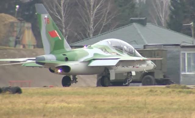 phản lực Yak-130 do Nga sản xuất bị rơi
