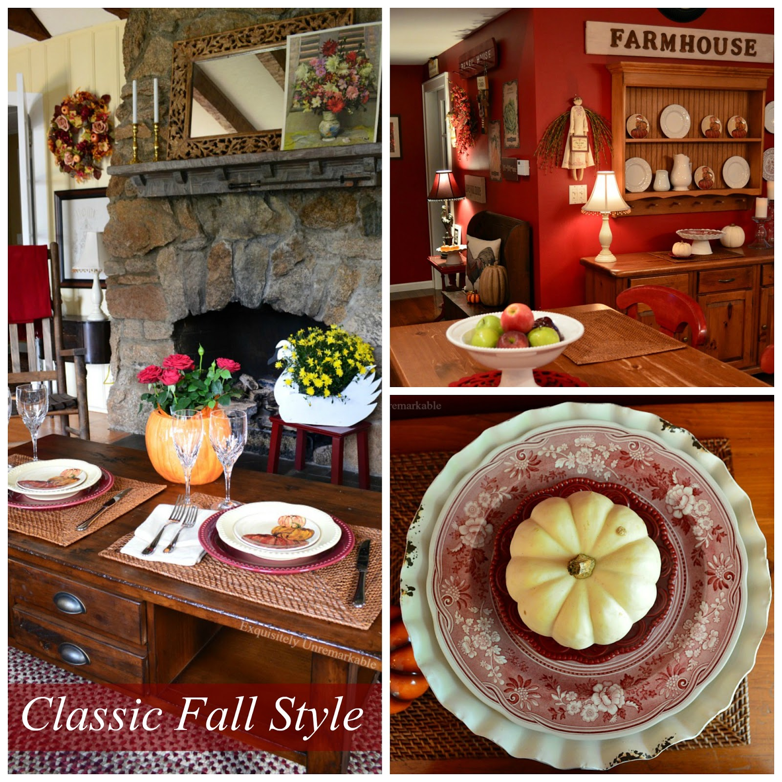 Classic Fall Home Decor