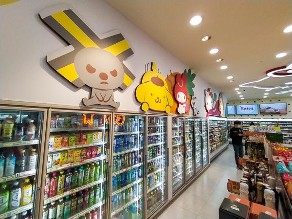 7-11三麗鷗X-Store結合無人超商科技、經典角色週邊還有迷你酒吧