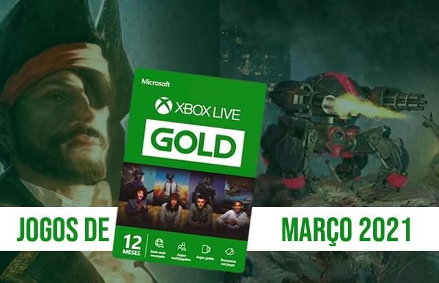 Games With Gold   Esses são os jogos de Março/2021