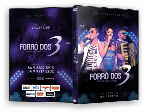 DVD – F3 SUNSET FORRO DOS 3 – ISO