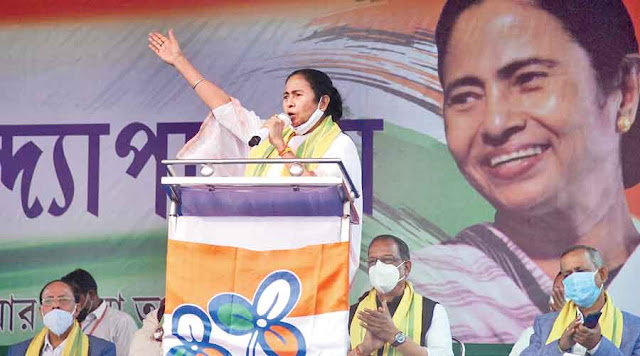 Mamata accuses BJP of cheating hill residents and trying to divide minority votes