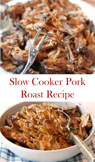 Slow Cooker Pork Roast Recipe #SlowCooker #Pork #Roast #Recipe