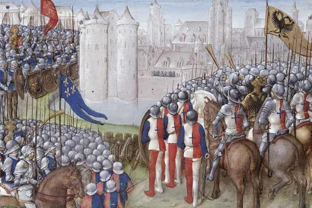 Second Crusade besieging Damascus Byzantium.filminspector.com