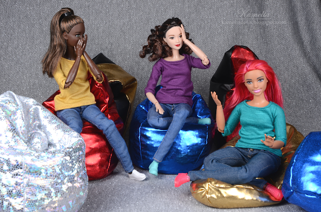 Bean bag for dolls