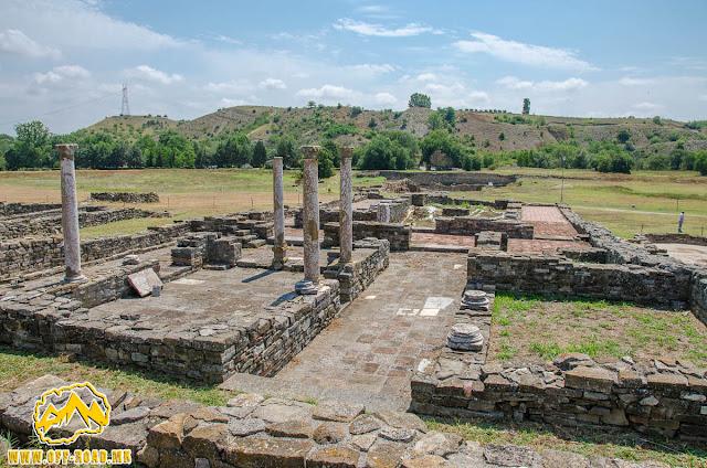 THE SYNAGOGUE BASILICA #Stobi Archaeological site #Macedonia