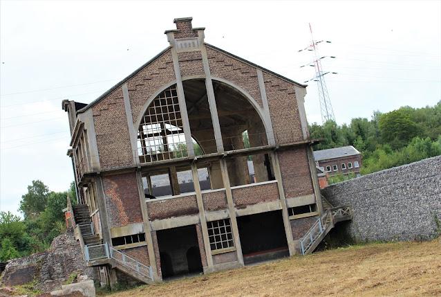 ancienne salle des machines mine charbon