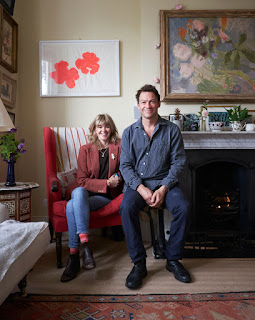 Dominic West And His Wife Catherine Fitzgerald