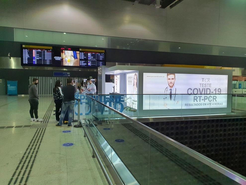 Como é fazer o exame de Covid no Aeroporto de Guarulhos