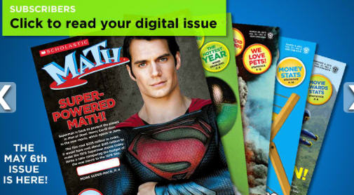 Mommy Maestra: Scholastic's Digital Math Magazines