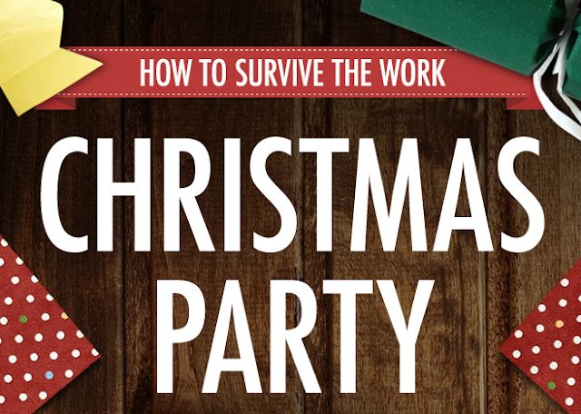 How-To-Survive-The-Work-Christmas-Party #Infographic