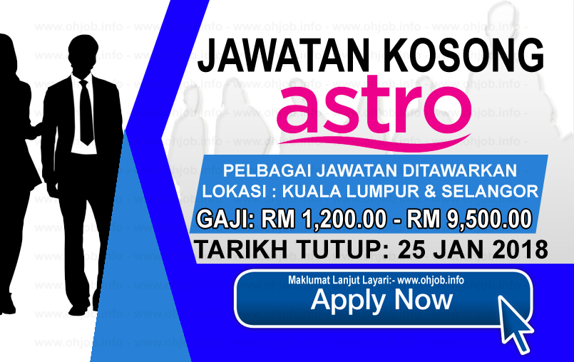 Jawatan Kerja Kosong Astro logo www.ohjob.info januari 2018
