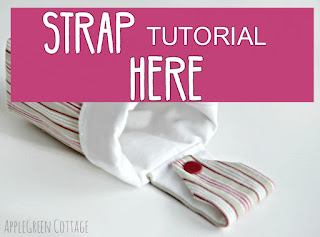how to make a strap for basket